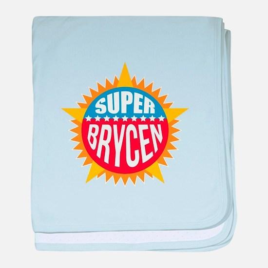 Super Brycen baby blanket