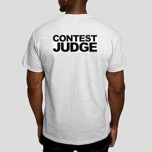 Judge Ash Grey T-Shirt