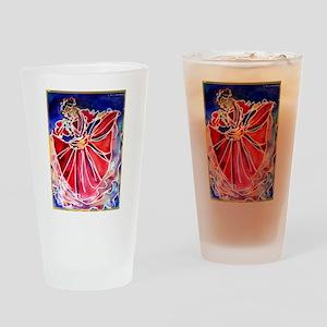 Fiesta! Colorful, Dancer! Drinking Glass