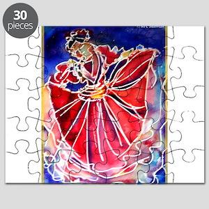 Fiesta! Colorful, Dancer! Puzzle