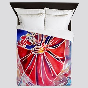 Fiesta! Colorful, Dancer! Queen Duvet