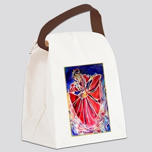Fiesta! Colorful, Dancer! Canvas Lunch Bag