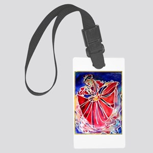 Fiesta! Colorful, Dancer! Luggage Tag