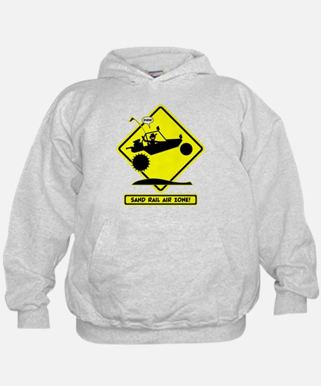 SAND RAIL Jumping Road Signs Hoodie