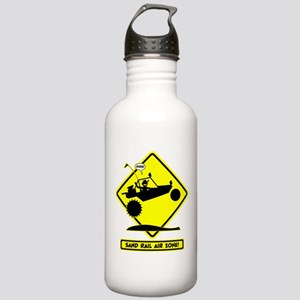 SAND RAIL Jumping Road Signs Water Bottle