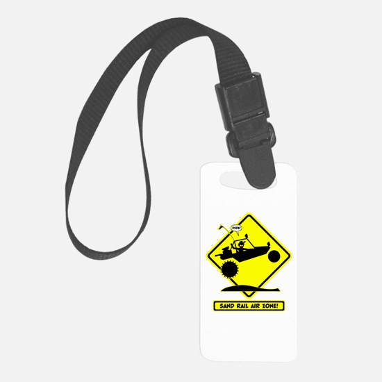 SAND RAIL Jumping Road Signs Luggage Tag
