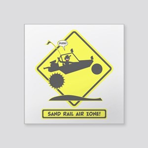 SAND RAIL Jumping Road Signs Sticker