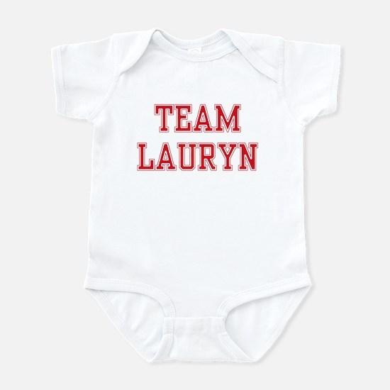 TEAM LAURYN  Infant Creeper