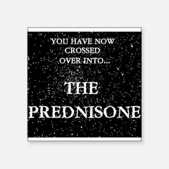 The Prednisone Sticker