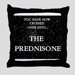 The Prednisone Throw Pillow