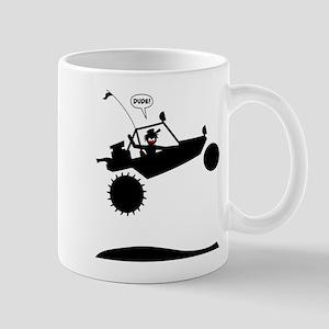 SAND RAIL Jumping Black Image Mug
