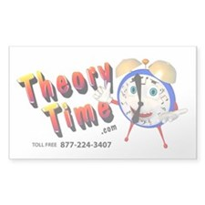 Theory Time Sticker (Rectangle 50 pk)