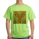 Golden Quetzalcoatl Green T-Shirt