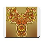 Golden Quetzalcoatl Mousepad