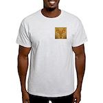 Golden Quetzalcoatl Ash Grey T-Shirt