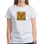 Golden Quetzalcoatl Women's T-Shirt