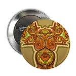 Golden Quetzalcoatl Button