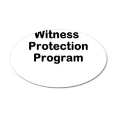Witness Protection Program Wall Decal