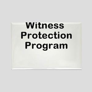 Witness Protection Program Rectangle Magnet