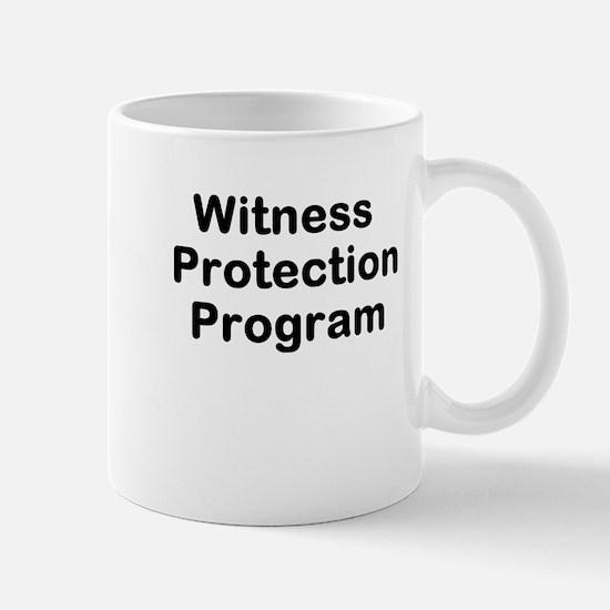 Witness Protection Program Mug