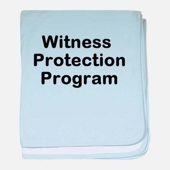 Witness Protection Program baby blanket