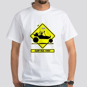 Stickman Sand Rail Road Signs T-Shirt