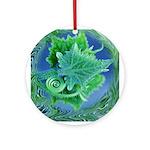 Leafy Ornament (Round)