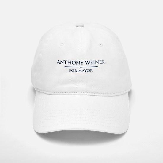 Vote Anthony Weiner Baseball Baseball Cap
