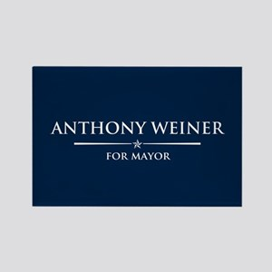 Vote Anthony Weiner Rectangle Magnet