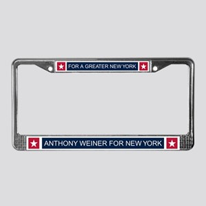 Elect Anthony Weiner License Plate Frame