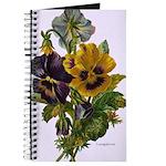 Pansies Victorian Flowers vin Journal