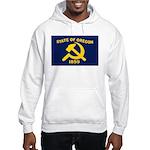 New Oregon Flag Hooded Sweatshirt