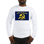 New Oregon Flag Long Sleeve T-Shirt
