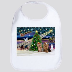 XmasMagic/Yorkies #6&7 Bib