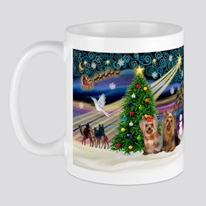 XmasMagic/Yorkies #6&7 Mug