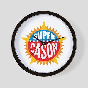 Super Cason Wall Clock