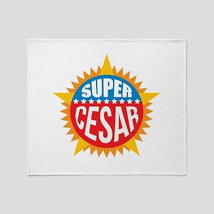 Super Cesar Throw Blanket