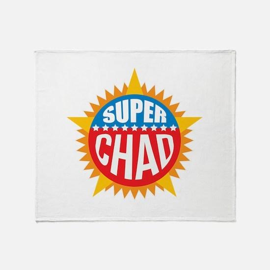 Super Chad Throw Blanket