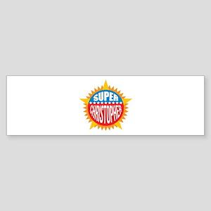 Super Christopher Bumper Sticker