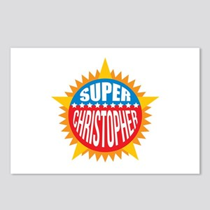 Super Christopher Postcards (Package of 8)