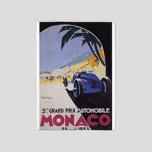 Monaco Grand Prix 5'x7'Area Rug