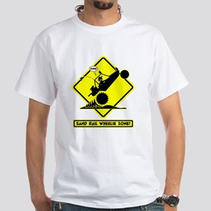 SAND RAIL Wheelie Road Signs T-Shirt