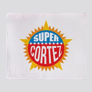 Super Cortez Throw Blanket