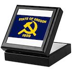 New Oregon Flag Keepsake Box