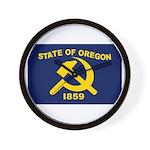New Oregon Flag Wall Clock