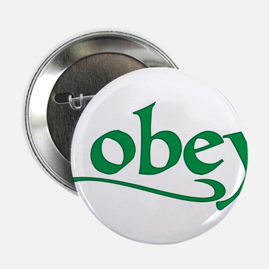 """I Obey 2.25"""" Button"""