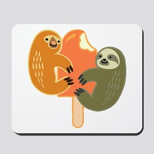 Slothsicle Mousepad