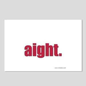 Aight Postcards (Package of 8)