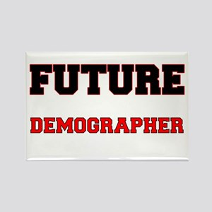 Future Demographer Rectangle Magnet