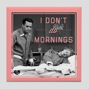 Mornings Tile Coaster